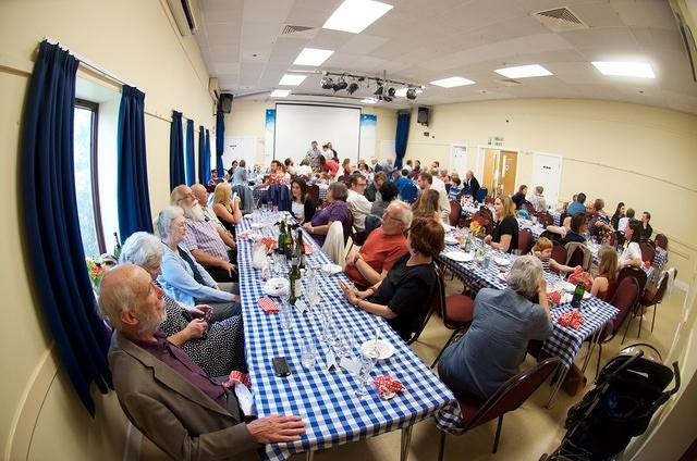 Lunch in the Village Hall