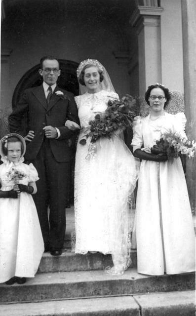 Kenneth and Beckie's Wedding - 15th June 1940